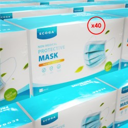 Face mask (40 boxes)